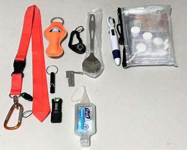 Emergency Lanyards Items in Pocket - Preparedness Kits (2)