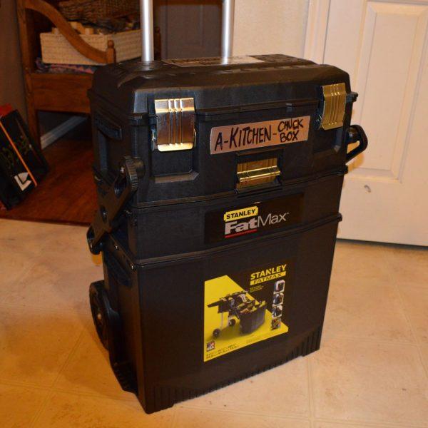 Emergency Kitchen Chuck Box 13 - Preparedness Kits