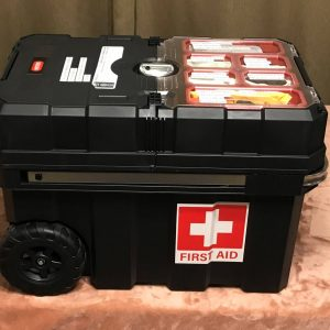 Rolling First Aid Kit - Preparedness Kits (3)