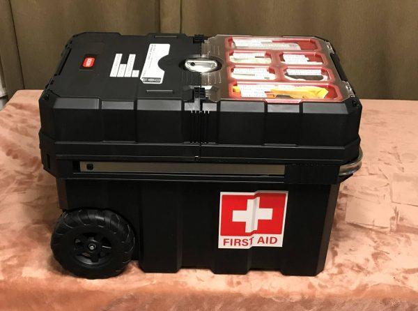 Rolling First Aid Kit - Preparedness Kits (3)
