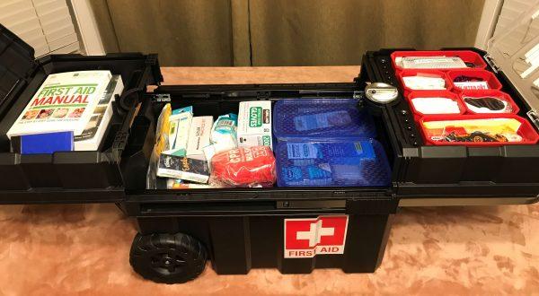 Inside Rolling First Aid Kit - Preparedness Kits