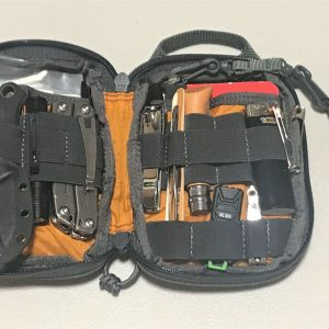 EDC Every Day Carry Kit - Preparedness Kits - Made to Order (10) - Pouch Open