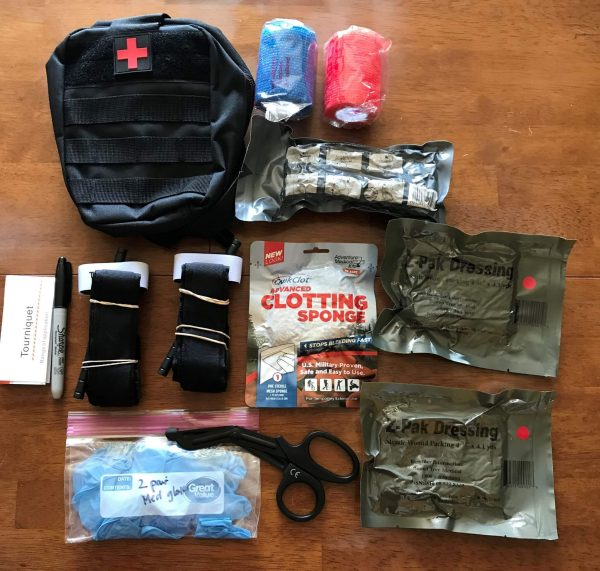Stop-Bleed Kit Contents - Preparedness Kits