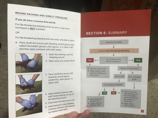 Stop-Bleed Kit with Stop The Bleed Booklet - Preparedness Kits (2)
