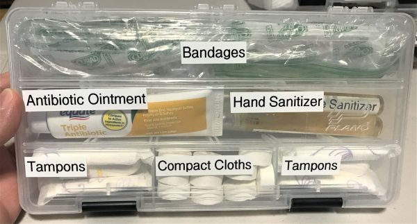 First Aid - Survival Carry Kit - Preparedness Kits (11) Band-Aids Case