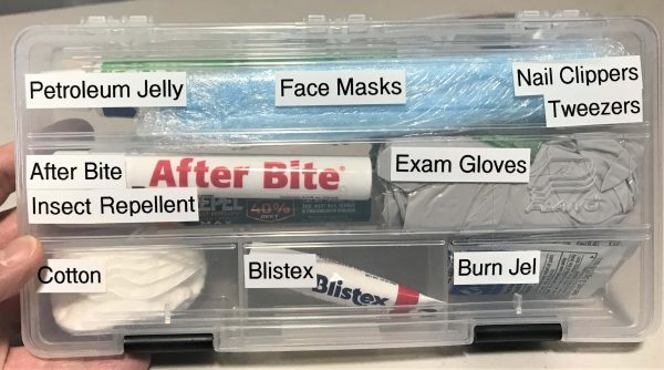 First Aid - Survival Carry Kit - Preparedness Kits (13) Skin Care Case