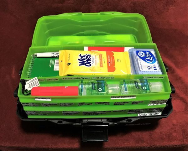 Tackle Box First Aid Kit (4) Top Open