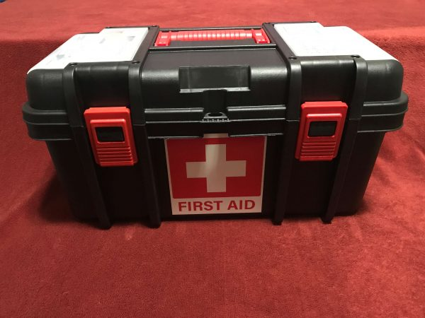 Toolbox First Aid Kit (2) - Front