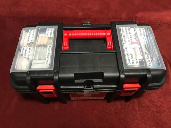 Toolbox First Aid Kit (3) - Top