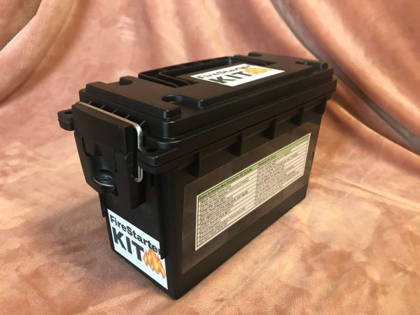 Firestarter Kit in Black Ammo Box - Preparedness Kits (1)