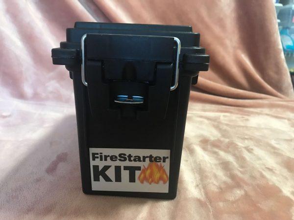 Firestarter Kit in Black Ammo Box - Preparedness Kits (3)