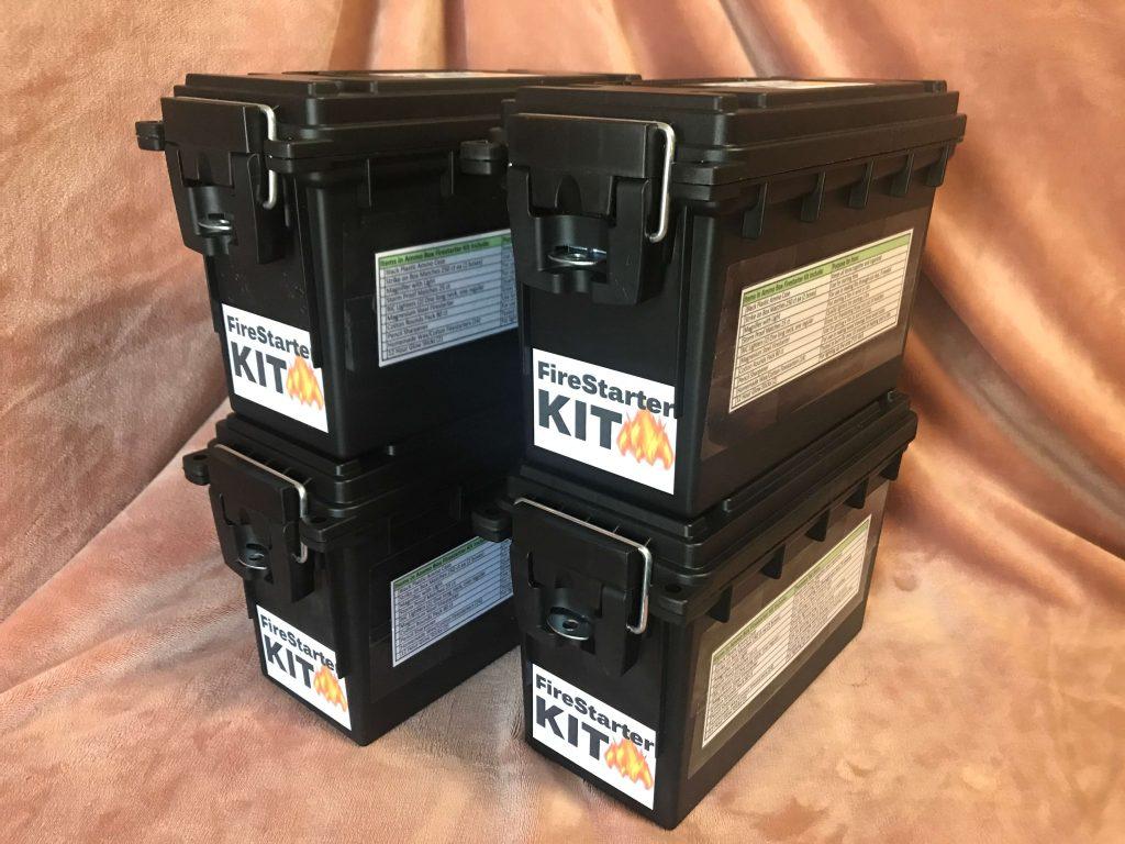 Firestarter Kit in Black Ammo Box - Preparedness Kits (9)